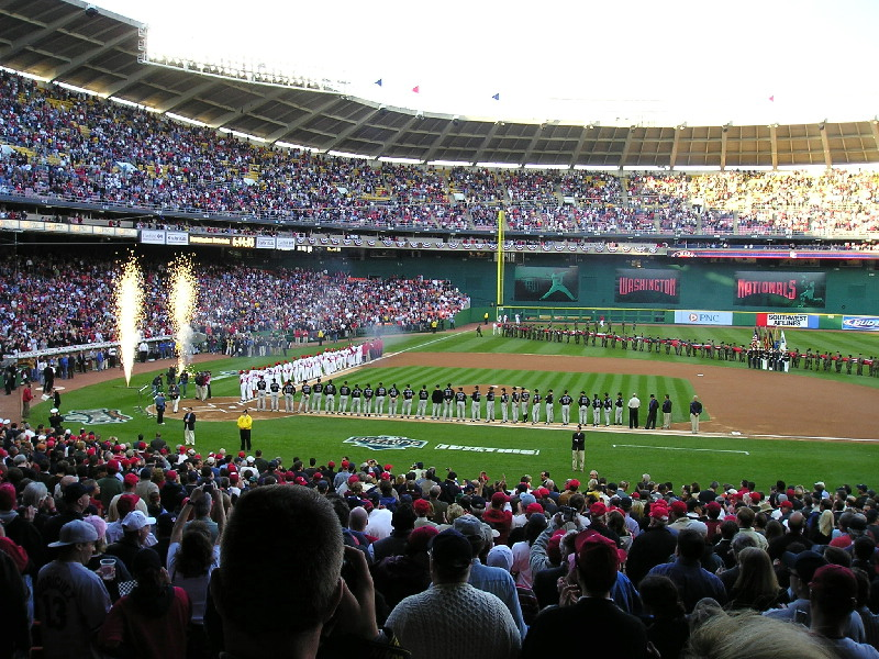 Nats Opening Day April 14, 2005